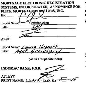 Assignment of mortgage foreclosure